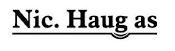 Nic. Haug